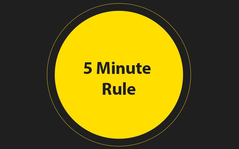 5-Minute-Rule