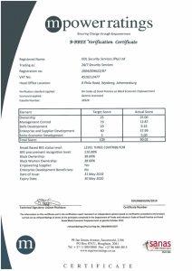 B-BBEE Certificate