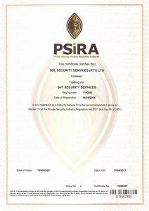 PSIRA Certification