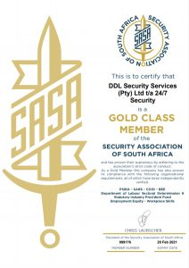 SASA Certification