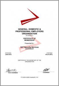 GDPEO Certificate